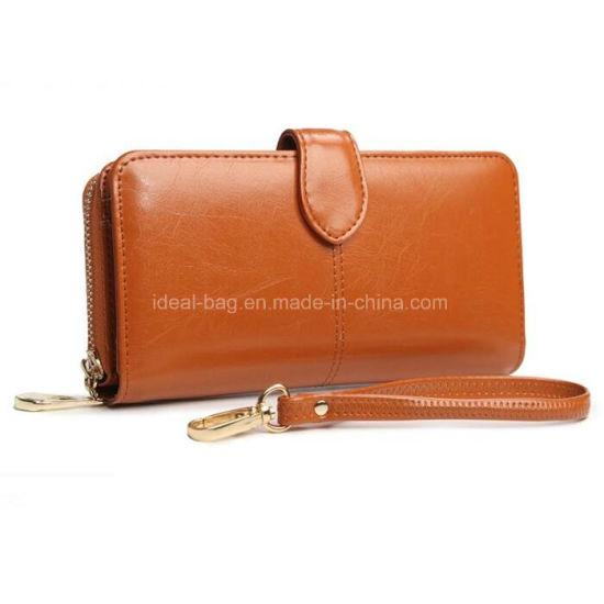 Fashion Clutch Bag Wallet Lady PU Leather Purse Wallet Zipper Credit Card Holder Wallet Promotional Women Designer Travel Puse Wallet
