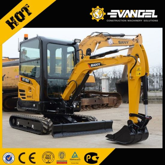 Sany Hot Sale 1.6ton Hydraulic Digger Machine Sy16c pictures & photos