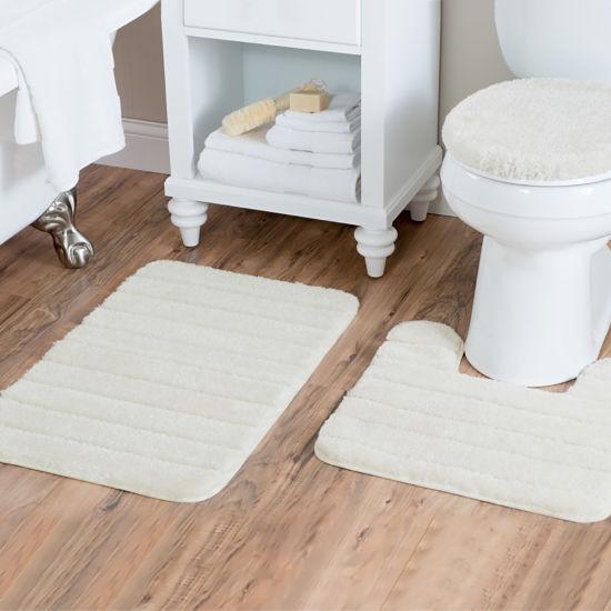 Bath Rug Set Of 3 Piece Bathroom, Bathroom Contour Rug