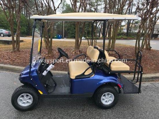 High Quality New Ezgo Valor - Gas - Electric Blue Golf Cart