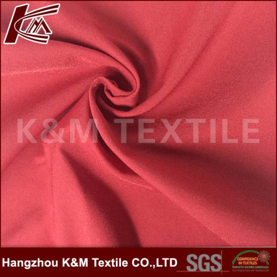 China Imitation Memory Fabric T400 Polyester Fabric 50d