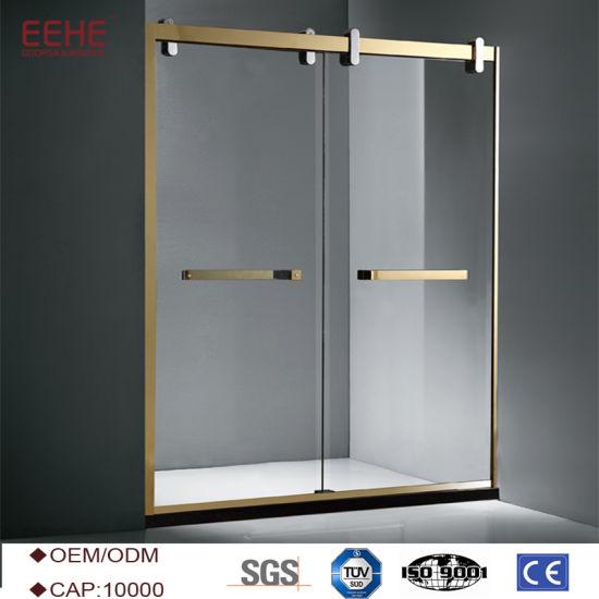 China Convenient Comfort Sliding Glass Door Shower Enclosure China