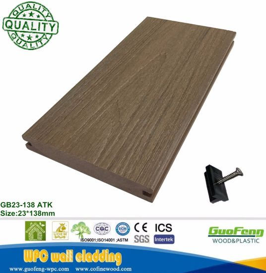 WPC Antiseptic Wood Texture WPC Co-Extruded Engineered Flooring/Decking with Ce Certificate pictures & photos