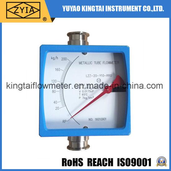 Metallic Tube Tri-Clamp Liquid Flowmeter