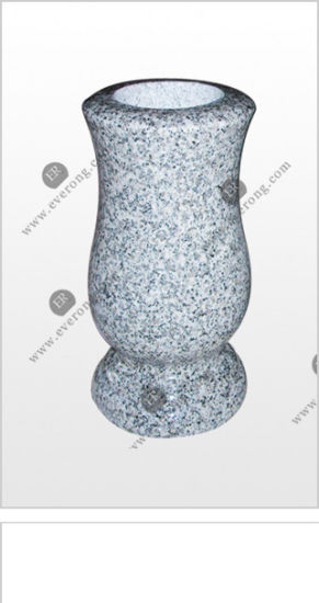 China Natural Stone Flower Vase For Monuments And Gravetone China