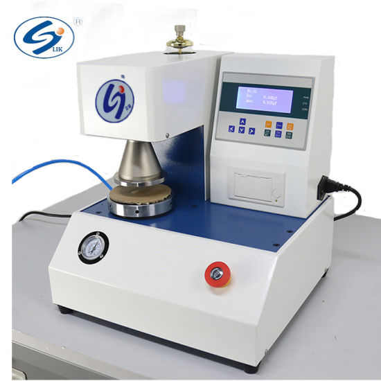 ISO Automatic Packaging Materilas Bursting Strength Test Machine
