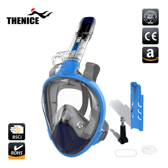 7b2d42cb4a5b Top Selling Folding Version Full Face Snorkel Masks with Gopro Mount 2018