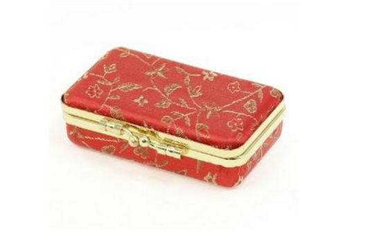New Red Golden Wedding Jewelry Case pictures & photos