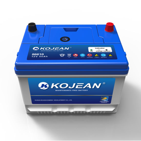 Good Quality Manufacture Sealed Bci Standard Mf86-610 Maintenance Free Auto Car Battery