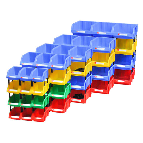 Perfect PP PE Material Strong Stack Storage Bins