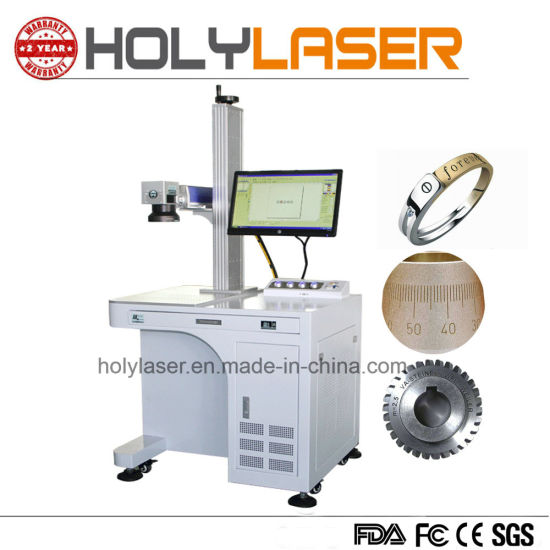 Portable Stainless Steel 20W 30W 50W Fiber Laser Marking Machine pictures & photos