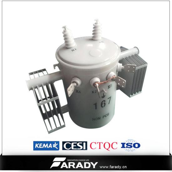 China 167kVA Single Phase Electrical Power 11kv Transformer Price ...