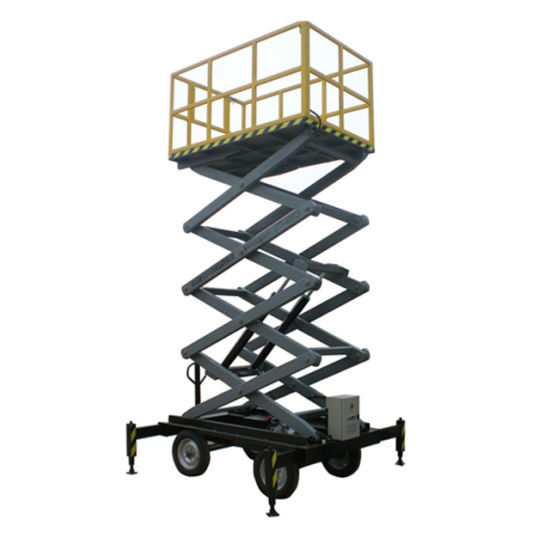 China Factory Price Mobile Man Lift Cleaning Elevator