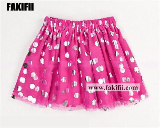 OEM Wholesale Summer Brand Children Apparel Kid/Girl Casual Party Wear Skirt