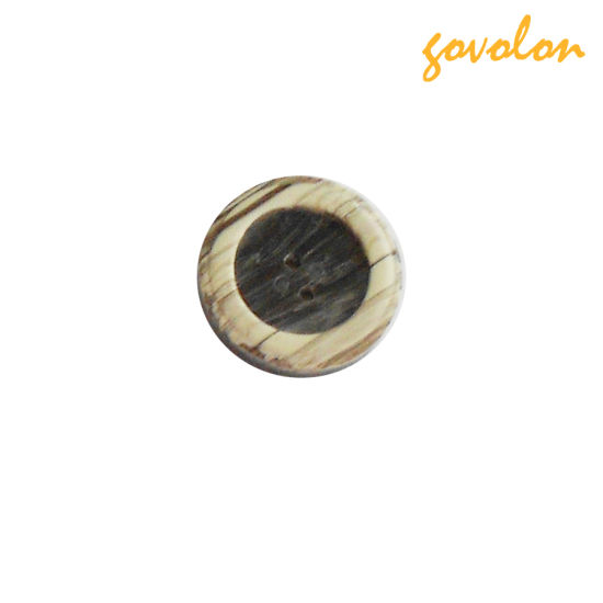4 Holes Round Resin Button with Different Design