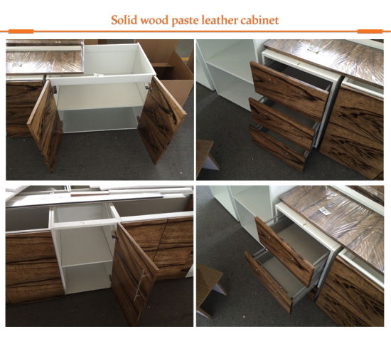 China Purchase Teak Wood Veneer Contemporary Online Kitchen
