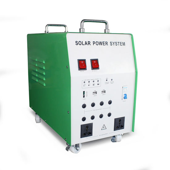 Solar Power Supply 500W with Inverter, Battery, Solar Panel pictures & photos