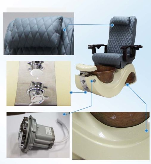 Pedicure SPA Chairs in Russia pictures & photos