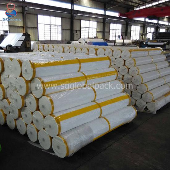 China Supply 8*300feet White PE Coated Tarpaulin
