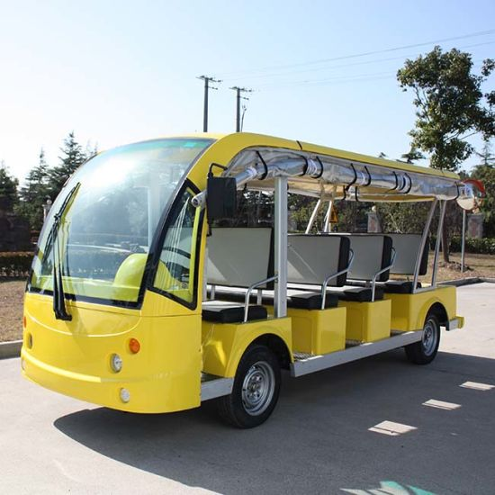 12 Seater Electric Bus for Sale Dn-11 with Ce Certificate From China pictures & photos