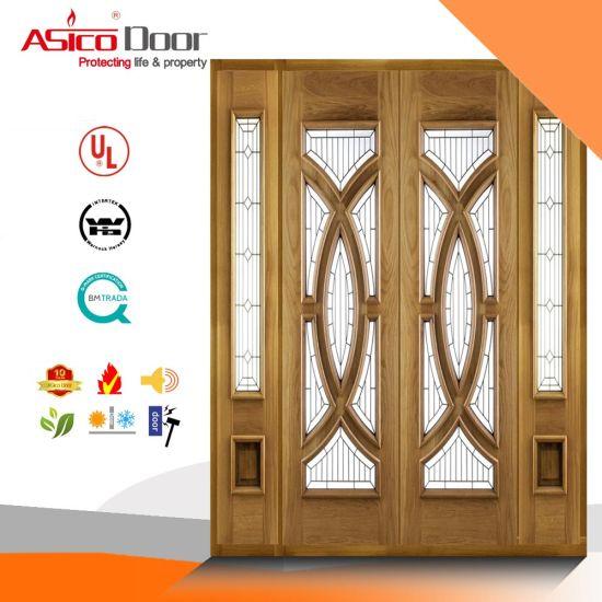 China Solid Wood Door, Entrance Doors, Exterior Door - China Wooden ...