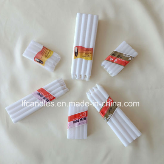 19gms, 21gms, 22gms White Candle with Cellophane Pack for West Africa Market pictures & photos