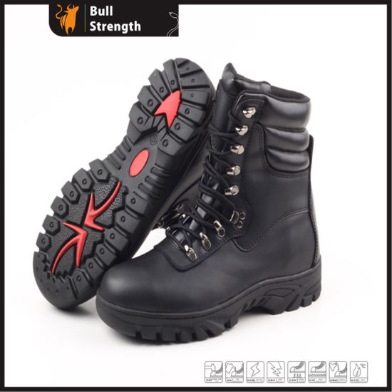 Black Color High Quality Cheap Price Militray Army Boots Sn5132 pictures & photos