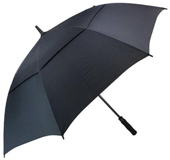 Double Canopy Golf Umbrella Windproof