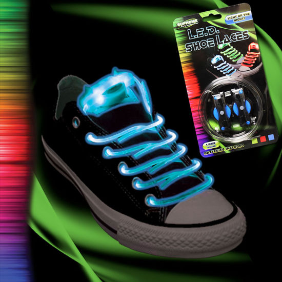 eeb35aa5b1aa2 High Quality LED Laces Fancy Shoe Laces Hot Sale Flashing LED Shoe Lace  pictures