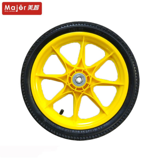 14 Inch PU Foam Pneumatic Wheel Flat Free Spare Parts Bicycle Tyre