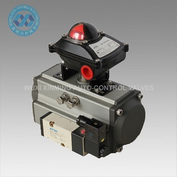 AT Rack and Pinion Pneumatic Rotary Actuator pictures & photos