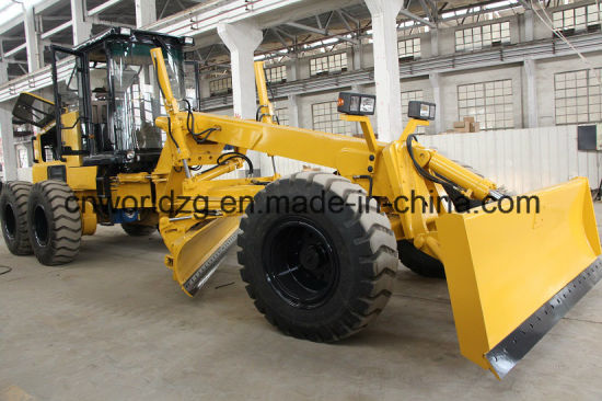 Grader with Scraper Equipped with 220HP Power pictures & photos