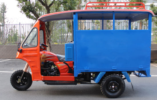 Keke Passenger Richshaw Tricycle Cargo Loader Van pictures & photos