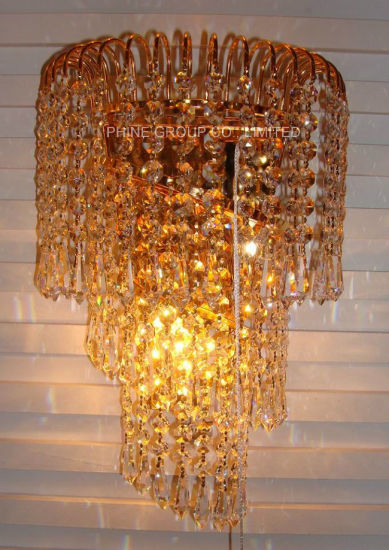 Decorative Wall Light with Crystal for Home or Hotel pictures & photos