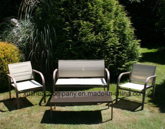 Stupendous China Bentley Garden Modern Textilene Lounge Set China Evergreenethics Interior Chair Design Evergreenethicsorg