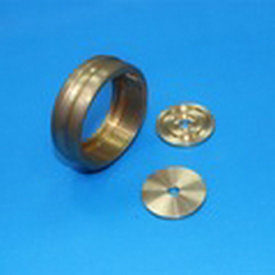 Precision CNC Turning Copper Accessories Copper Screw with Threading pictures & photos