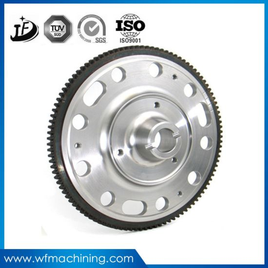 Sand Casting Inertia Plating Large Flywheel/Racing Flywheel pictures & photos