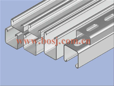 Strut Channel Metal Framing Systems Roll Forming Production Machine Malaysia pictures & photos