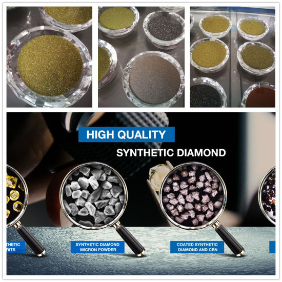 All Mesh & Micron Uncoated & Coated Synthetic Diamonds with Competitive Prices pictures & photos
