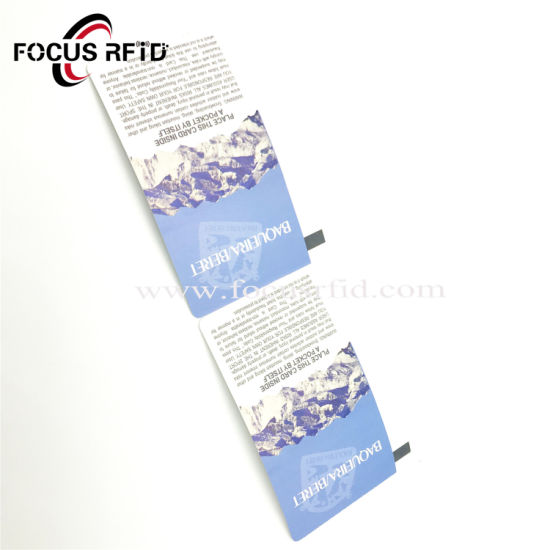 RFID Disposable Paper Card for Commercial Activity Ticket