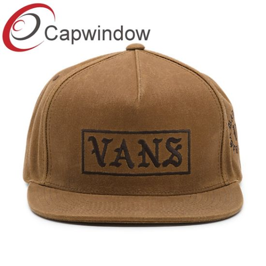 2e7d2800b23 Promotion Canvas Fabric 5 Panel Snapback Hat with Flat Embroidery pictures    photos