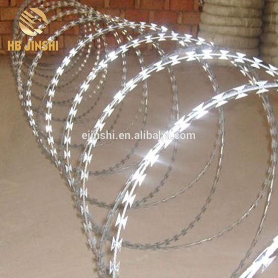 316 Stainless Steel 450mm Coil Concertina Razor Barbed Wire