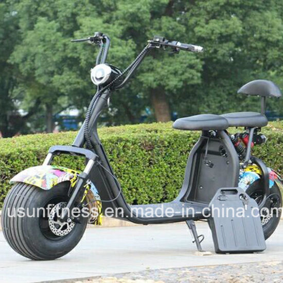 2018 Hot Sale Remove Battery Harley Citycoco Electric Scooter Motorbike with Ce pictures & photos