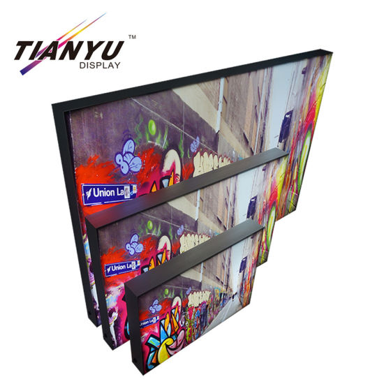 Tension Fabric Easy Assemble Lightweight Exhibition Light Box pictures & photos