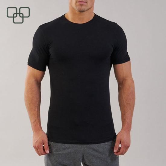 Fashion High Quality 100 Cotton Mens Compression Shirts