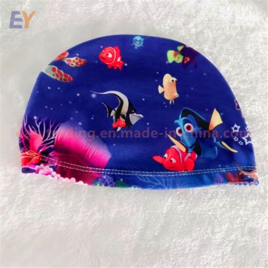 Chinese Factory Wholesale Colorful Small Baby Kid Swim Hat