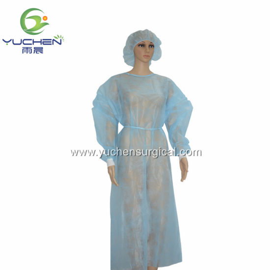 Waterproof Disposable PP Isolation Surgical Gowns with Ce and ISO Trade Assurance Supplier