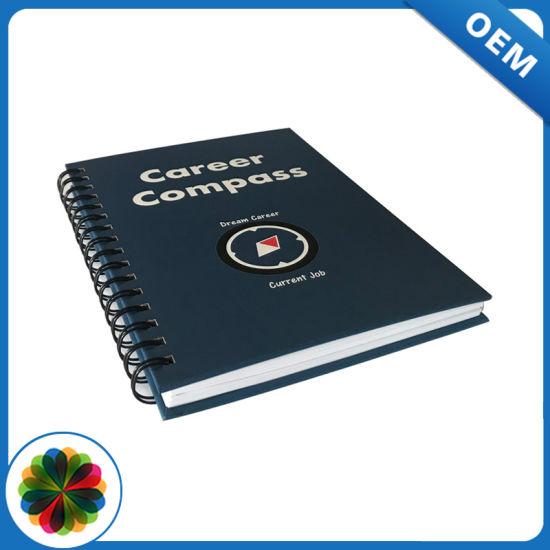 Promotion Custom Simple Cheap Journal Spiral Notebook