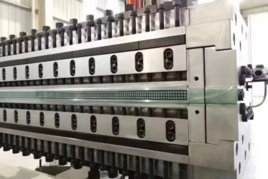 PC PP PE Plastic Hollow Cross Section Plate Grid Construction Board/Sheet Extrusion Machine/Board Sheet Production Line