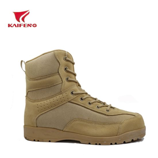 Outdoor Calf Skin Military Army Tactical Boots